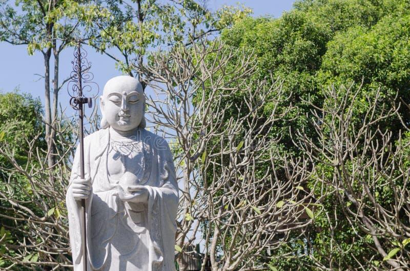 Священник китайца Xuanzang Будды стоковая фотография