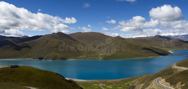 Священное озеро стоковая фотография
