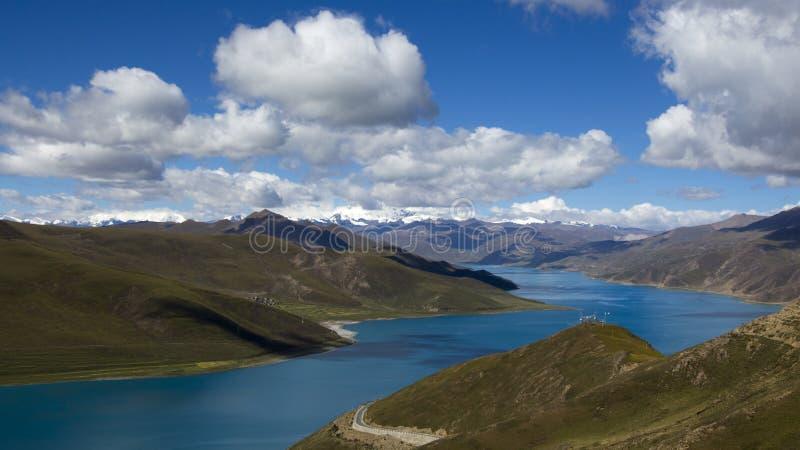 Священное озеро стоковые изображения rf