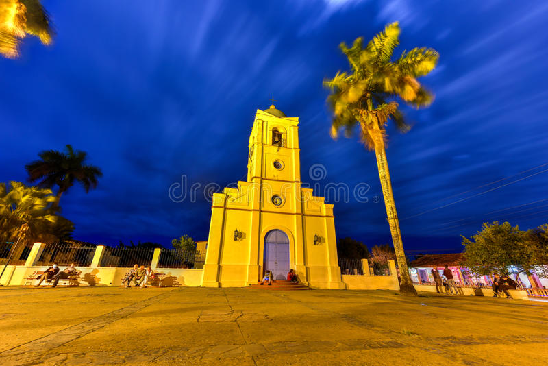 Священное сердце церков Иисуса - Vinales, Кубы стоковое фото rf