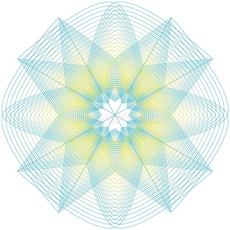 Священные знаки геометрии Комплект символов и элементов Алхимия, вероисповедание, общее соображение бесплатная иллюстрация
