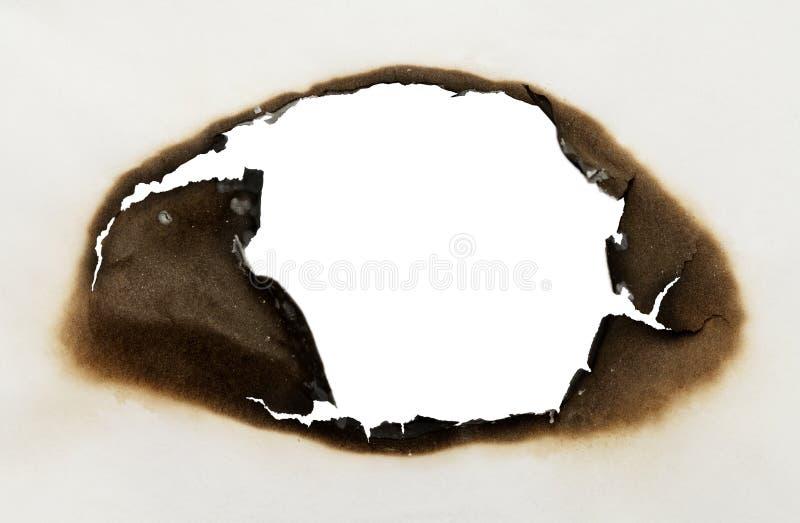 Сгорели овал стоковые фото