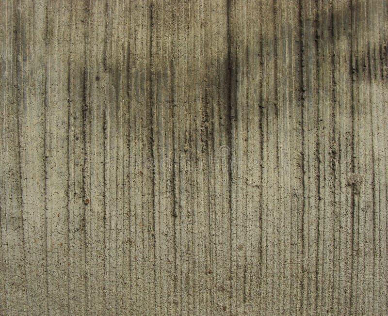 сгребенный бетон striped несено стоковая фотография