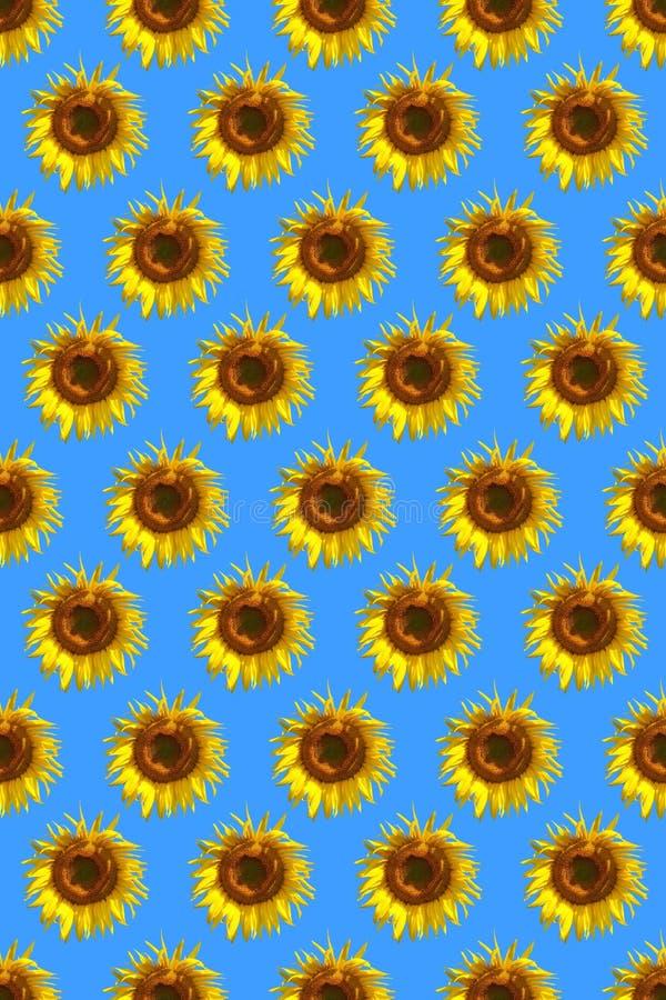 сделайте по образцу солнцецвет стоковые фото