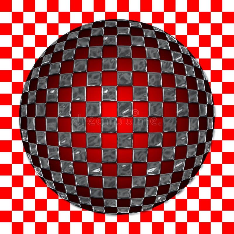 Download сделайте по образцу Spherized серебр приданным квадратную форму Иллюстрация штока - иллюстрации насчитывающей серебр, метка: 85463