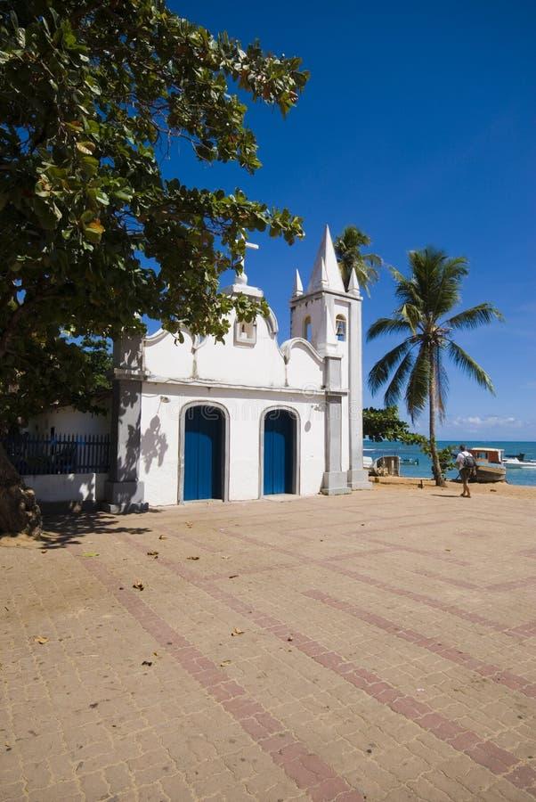 сделайте praia сильной стороны стоковое фото