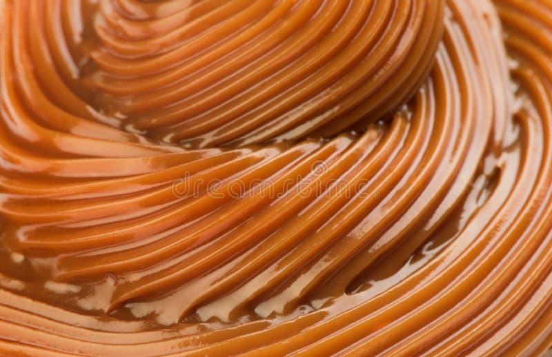 Сделанное по образцу русое карамельки конспекта стоковое фото