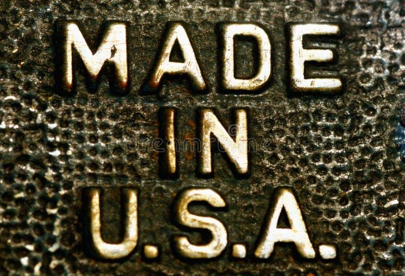 сделанные США стоковое изображение rf