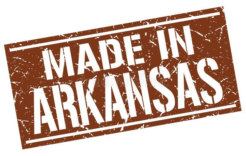 Сделанный в штемпеле Арканзаса иллюстрация вектора