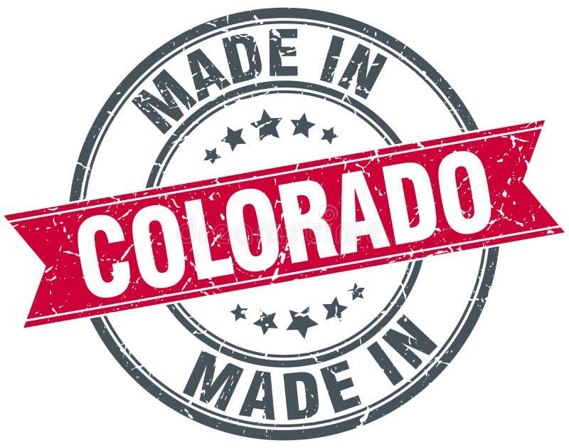 Сделанный в штемпеле Колорадо иллюстрация штока