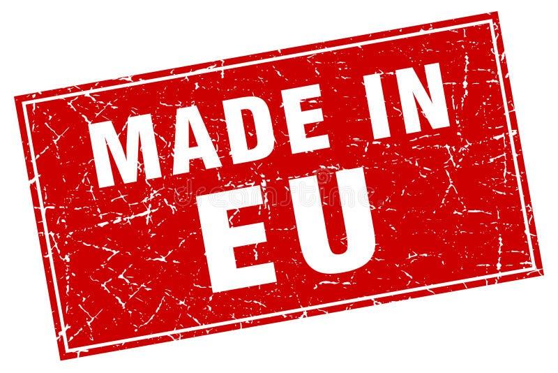 Сделанный в штемпеле eu бесплатная иллюстрация