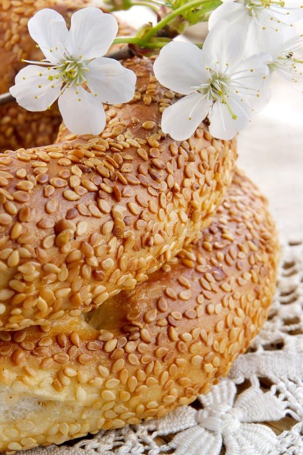 сделанный дом хлеба свежий стоковое фото