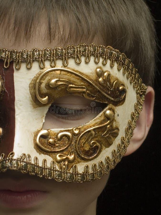 сдержано немногую masquerade стоковые фотографии rf