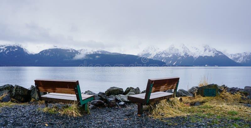 Севард Аляска стоковая фотография