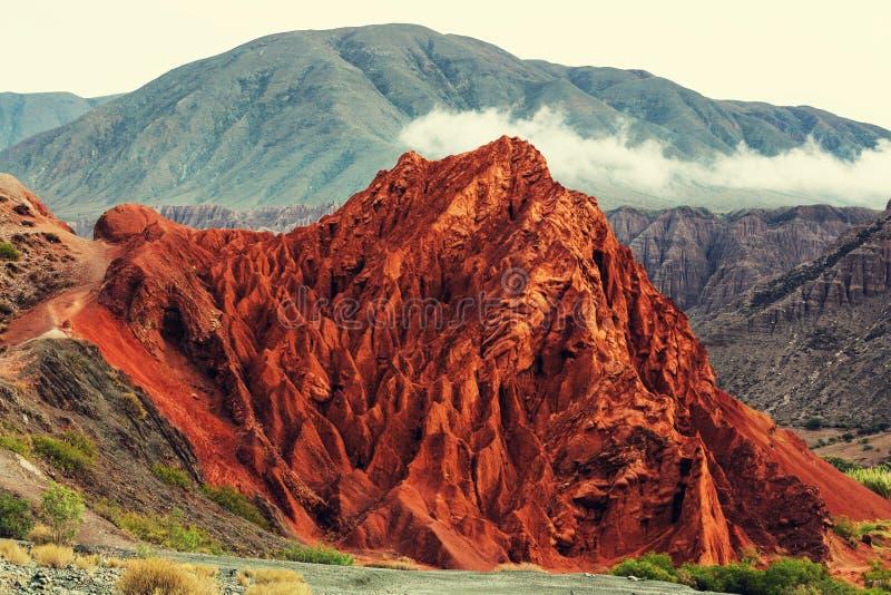 Северная Аргентина стоковое изображение