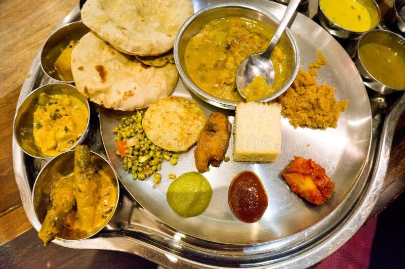 Северная индийская кухня стоковое фото rf