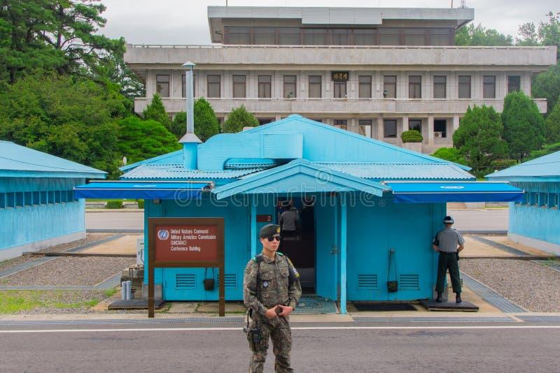 Северная Корея JSA стоковая фотография