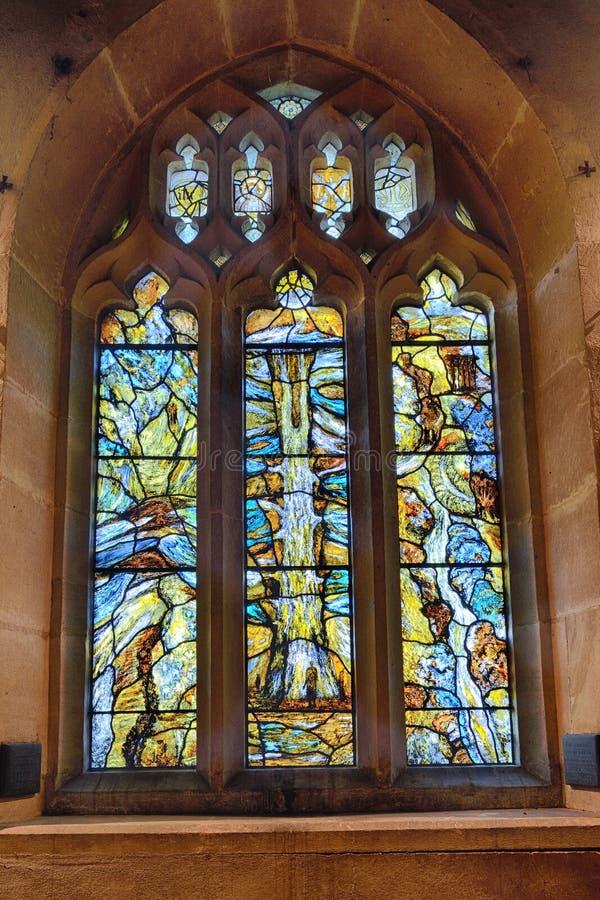Северное окно мемориала Transept стоковые изображения