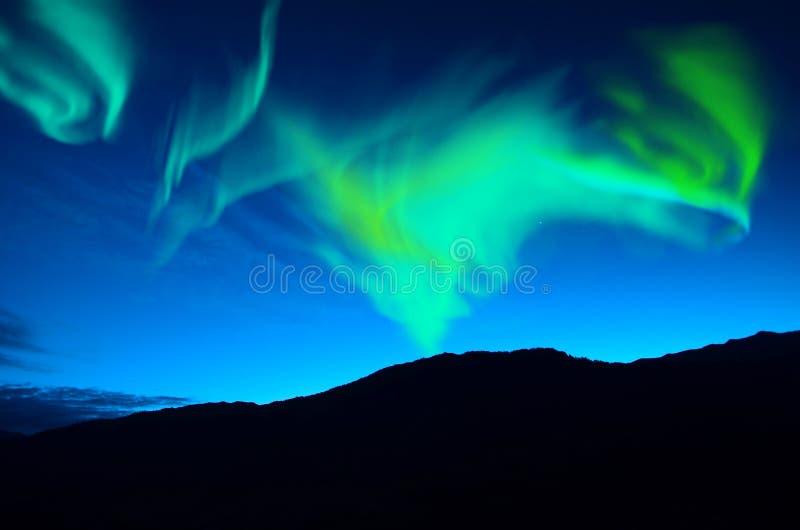 Северные света (северные сияния) стоковая фотография rf