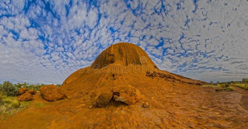 Северный конец Uluru стоковое фото rf