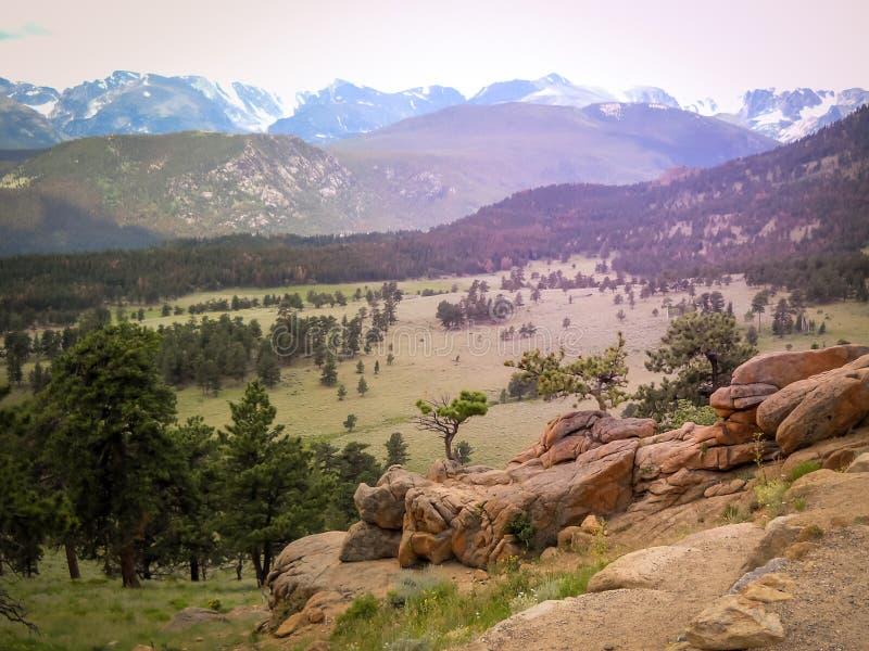 Северный национальный парк скалистой горы Колорадо парка Колорадо Estes стоковое изображение rf