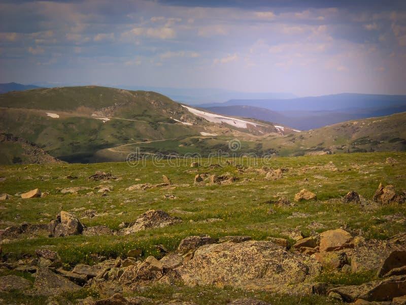 Северный национальный парк скалистой горы Колорадо парка Колорадо Estes стоковые фотографии rf
