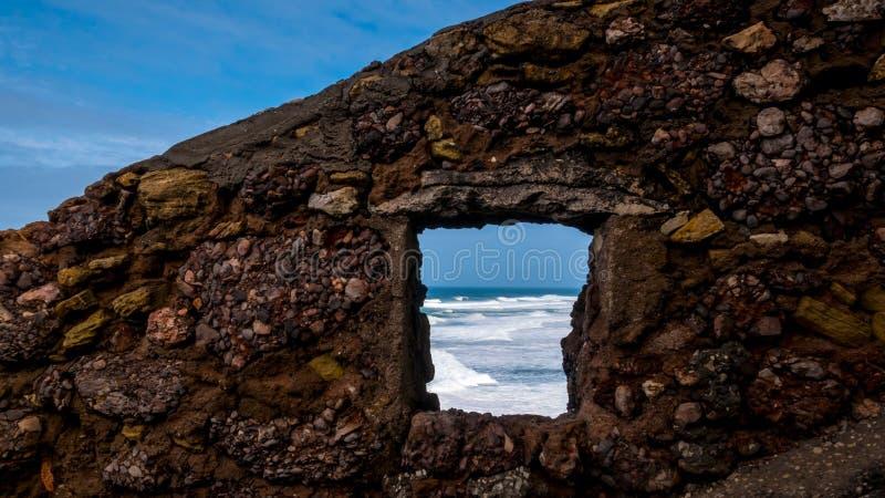 Северный пляж стоковое изображение