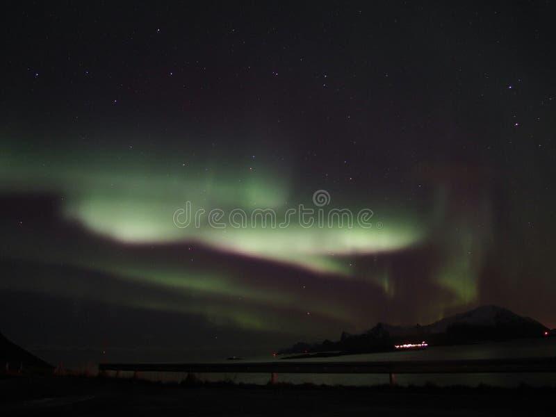 Северный свет стоковые фотографии rf