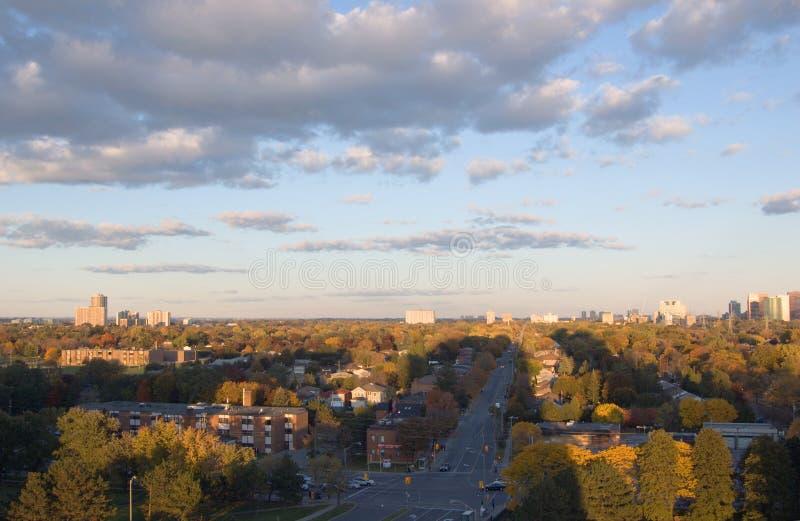 северный york стоковое изображение rf