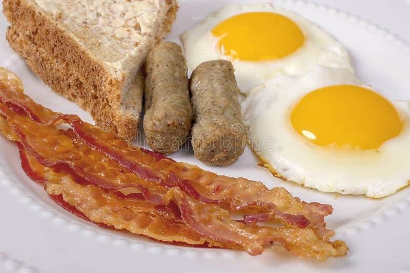 Североамериканский завтрак стоковые фото
