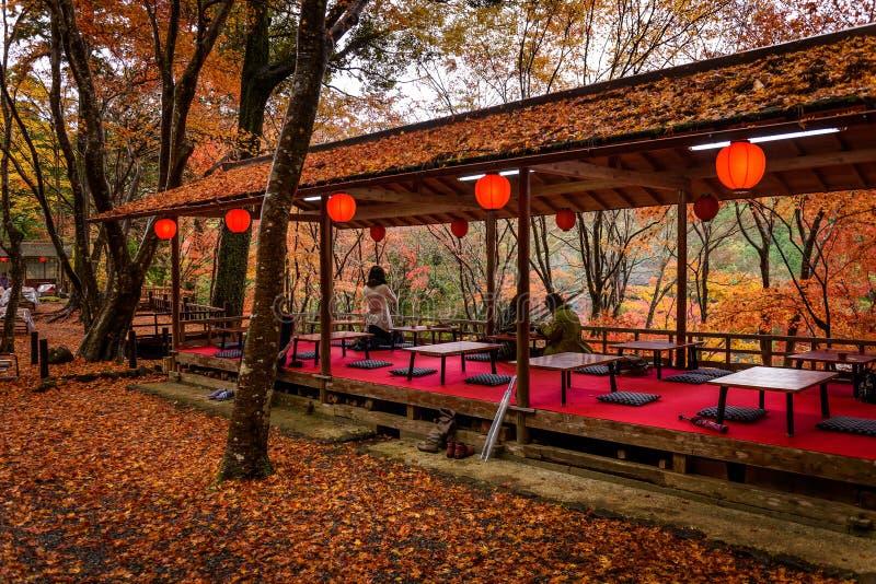 Сезон осени Киото стоковая фотография