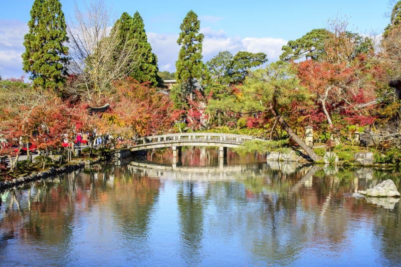 Сезон осени на Eikando, Киото, Японии стоковые фото