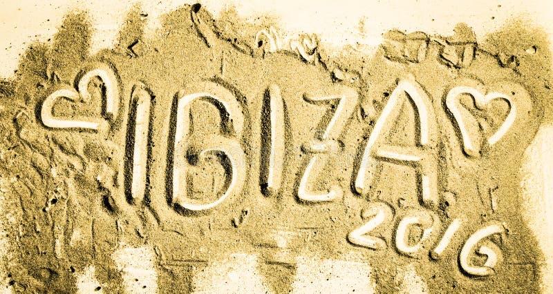 Сезон Ibiza 2016 стоковая фотография