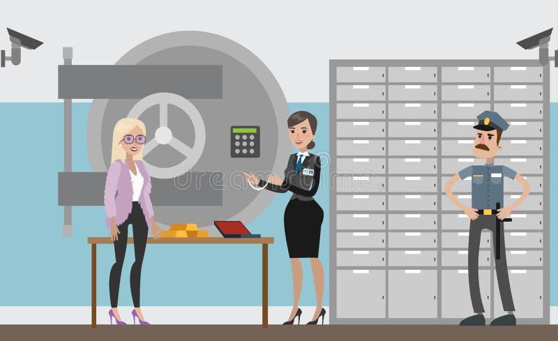 Сейф безопасности бесплатная иллюстрация
