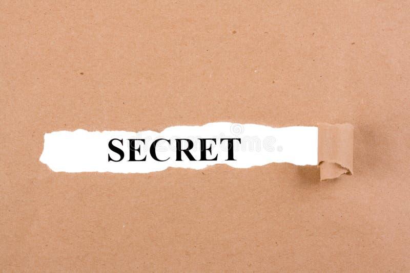 Секретная концепция стоковая фотография