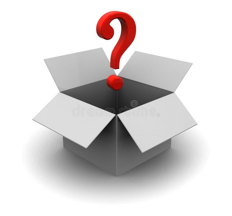 Секретная коробка Стоковая Фотография RF