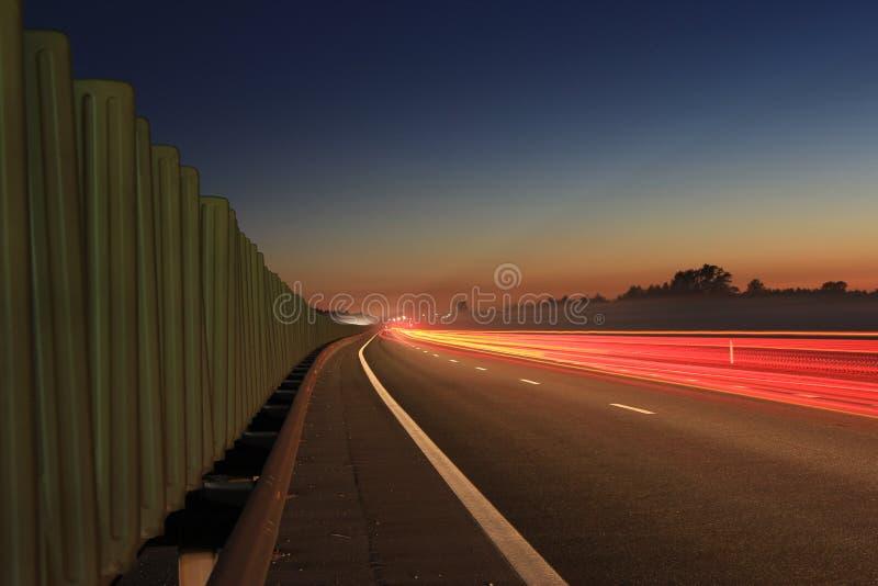 Секретная сторона шоссе стоковые фотографии rf