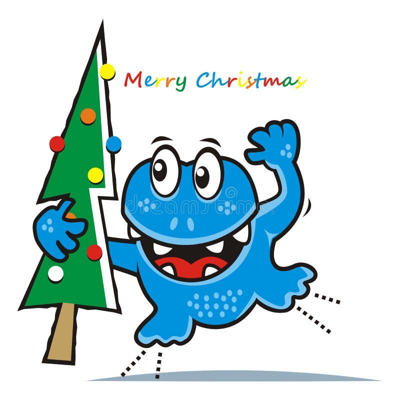 Download Секретный агент и рождественская елка Иллюстрация вектора - иллюстрации насчитывающей счастливо, приветствие: 81812746