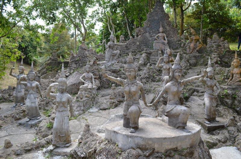 Секретный сад Будды стоковые изображения rf