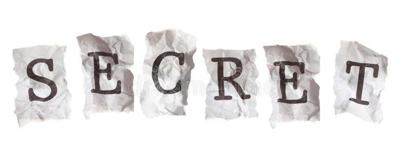 секрет раскрывает стоковые изображения rf