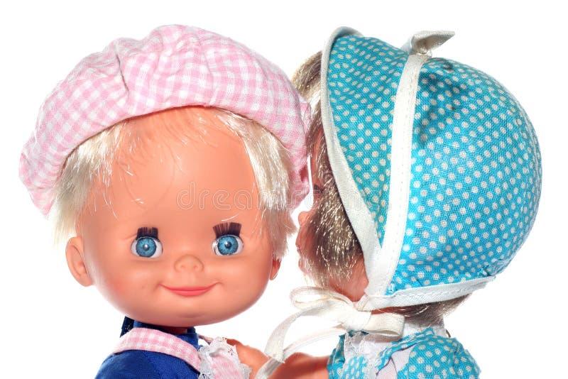 секрет ll кукол i говорит вас стоковое фото