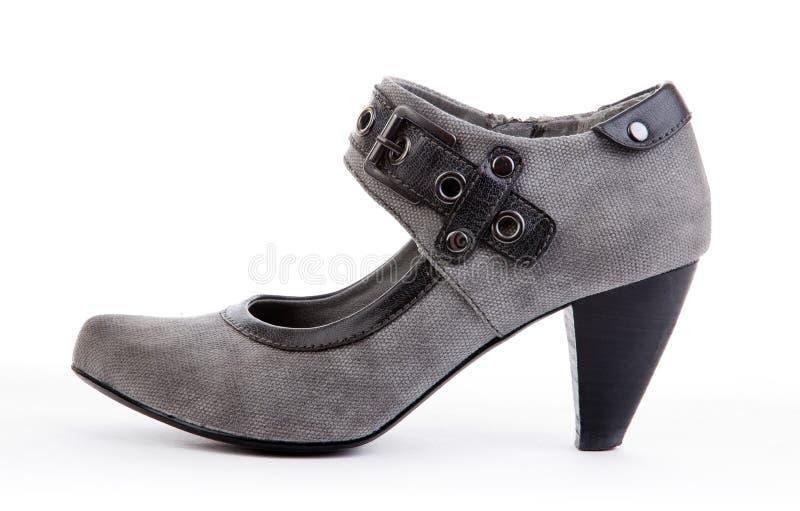 сексуальная женщина ботинка стоковая фотография