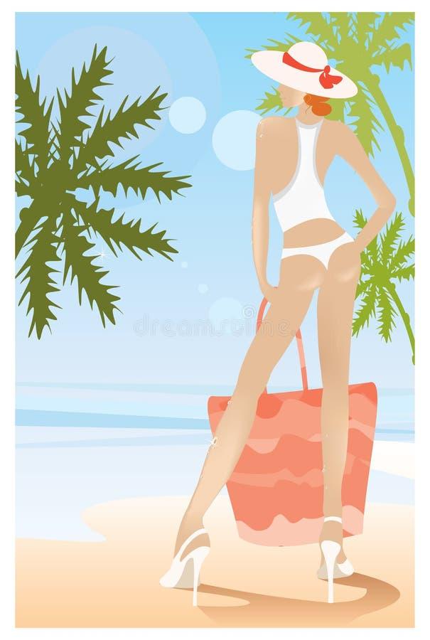Download сексуальная женщина иллюстрация штока. иллюстрации насчитывающей пятка - 6866003