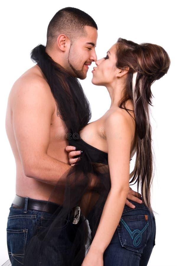 сексуальное пар латинское стоковая фотография rf