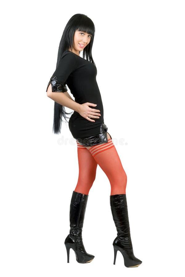 сексуальные детеныши женщины стоковая фотография