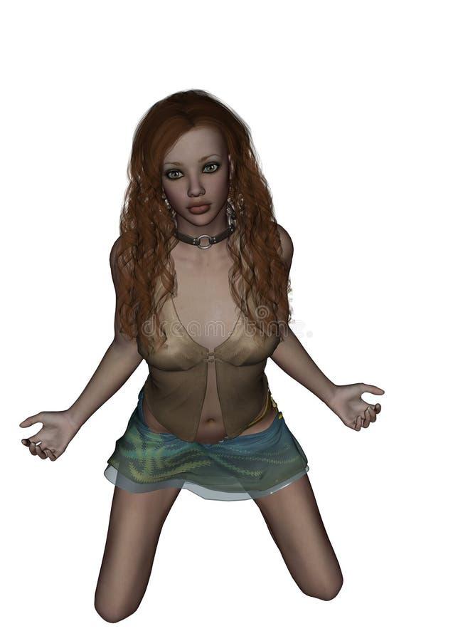 сексуальные детеныши женщины стоковое изображение