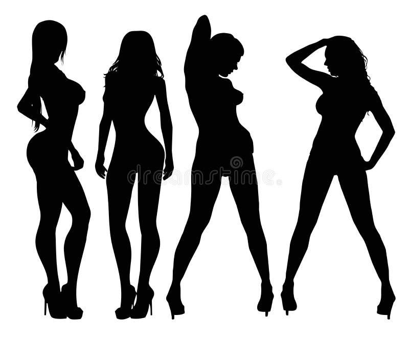Сексуальные женщины Стоковое фото RF