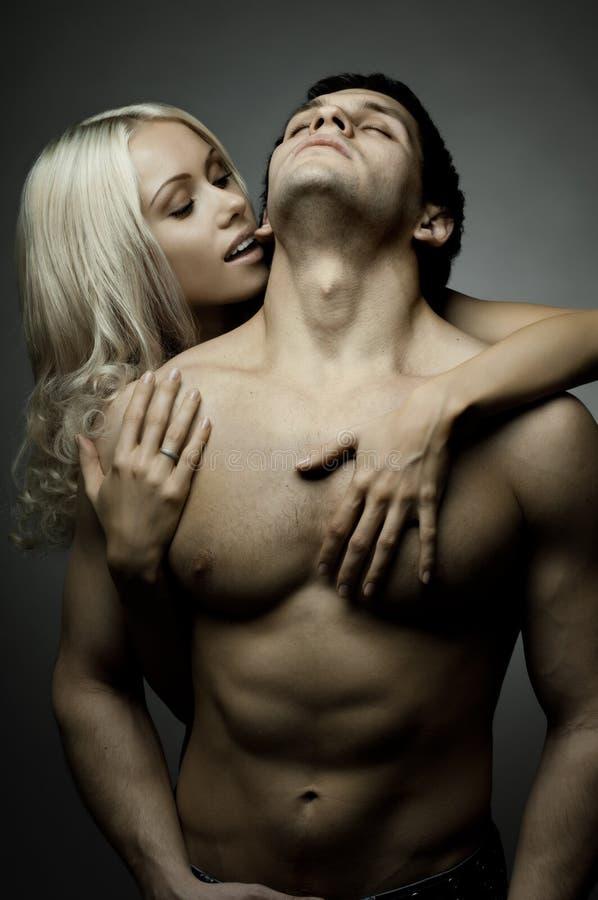 Сексуальные пары стоковое изображение