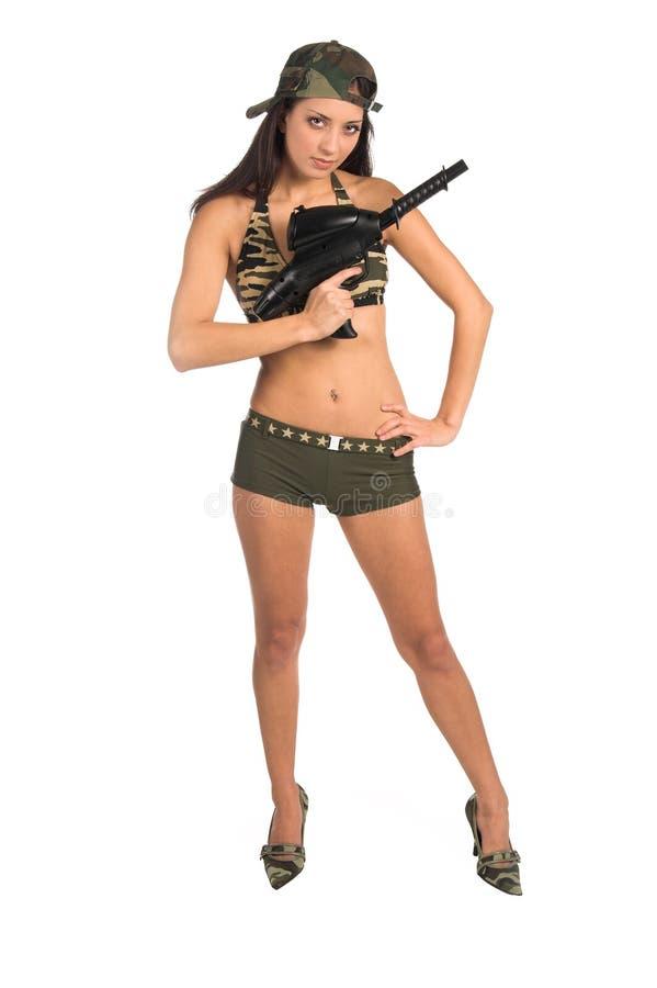 Download сексуальный воин стоковое фото. изображение насчитывающей сексуально - 476886