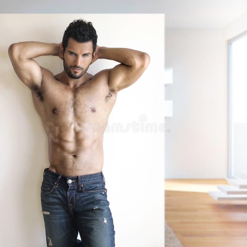 Сексуальный парень стоковое изображение